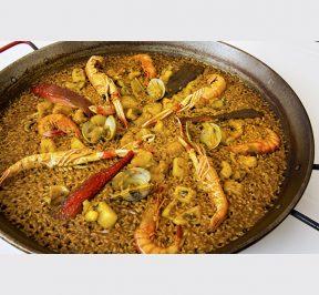 Benidorm_la_falua_paella_marisco Restaurantes de Alicante