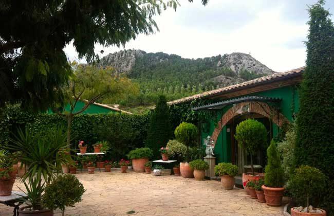 jardines de Restaurante Lolo Alicante