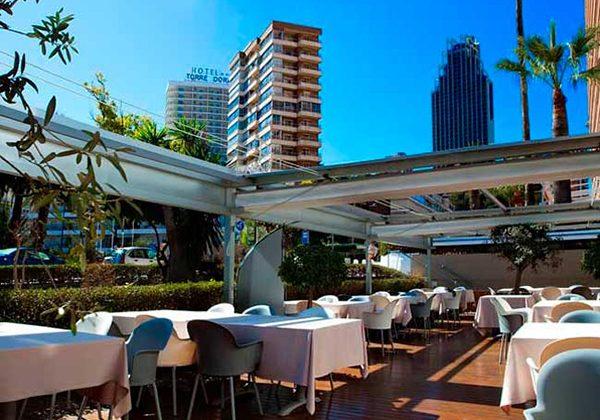 terraza-en-Benidorm La Falua Restaurantes de Alicante